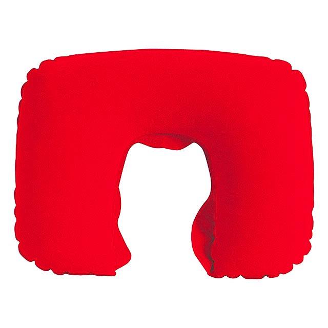Traveller polštářek - červená