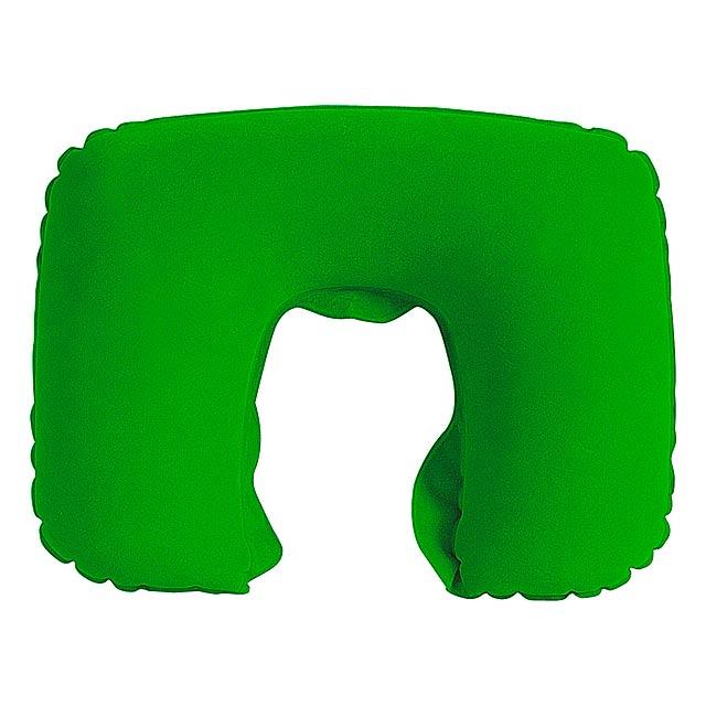 Traveller polštářek - zelená
