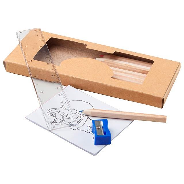 Dumbo set na kreslení - dřevo