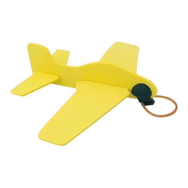 Baron letadlo - žlutá
