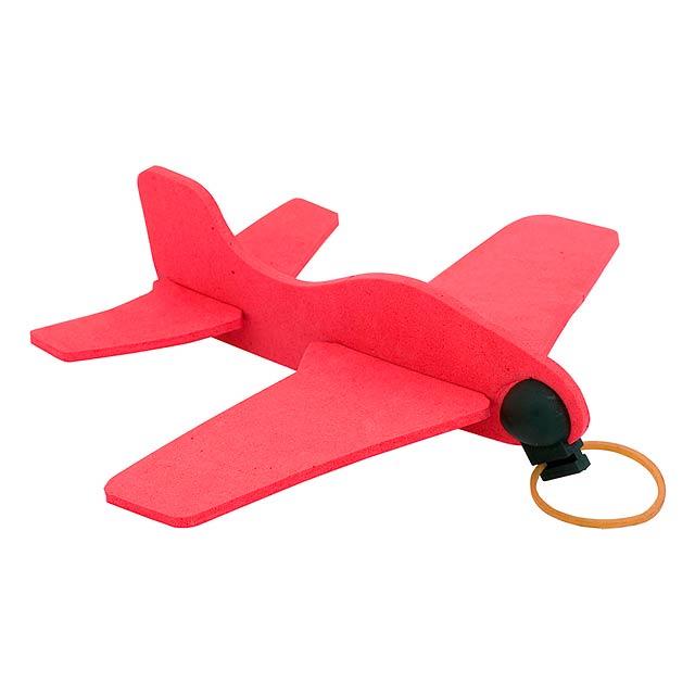 Baron letadlo - červená