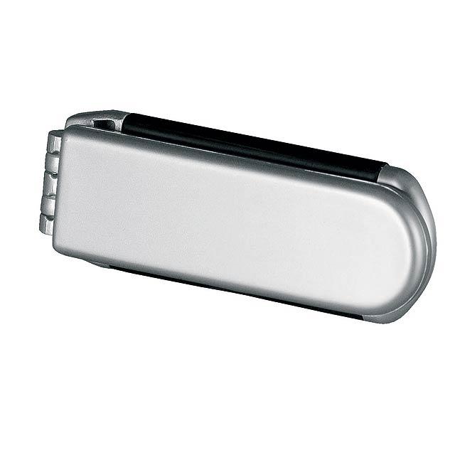 Aure hřebínek - stříbrná