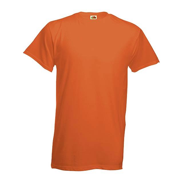 Heavy-T tričko - oranžová