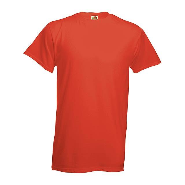 Heavy-T tričko - červená