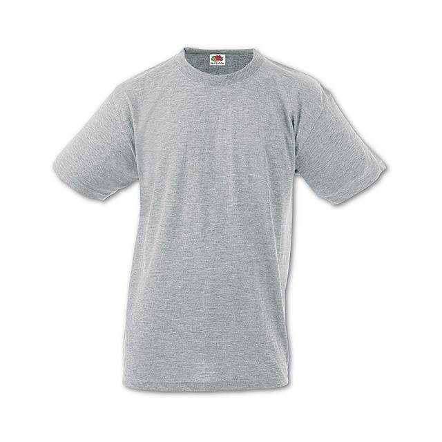 Heavy-T tričko - šedá