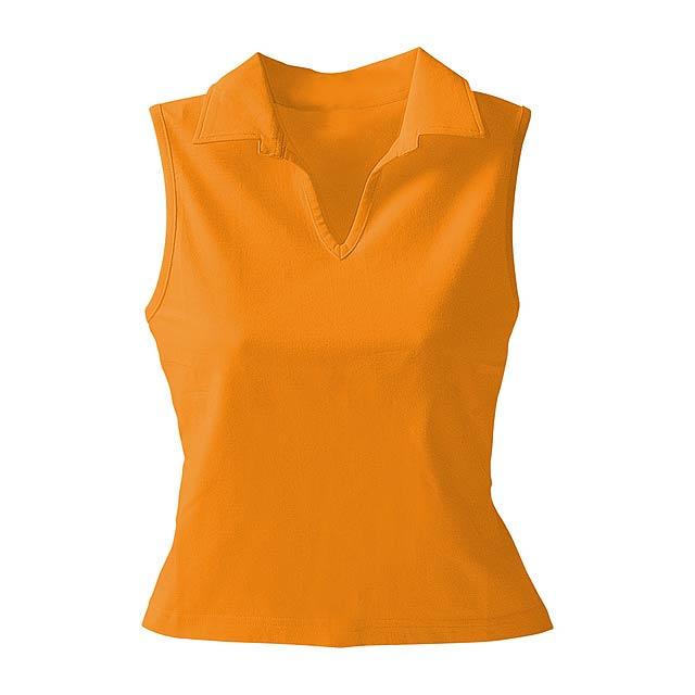 Cristin polo košile - oranžová