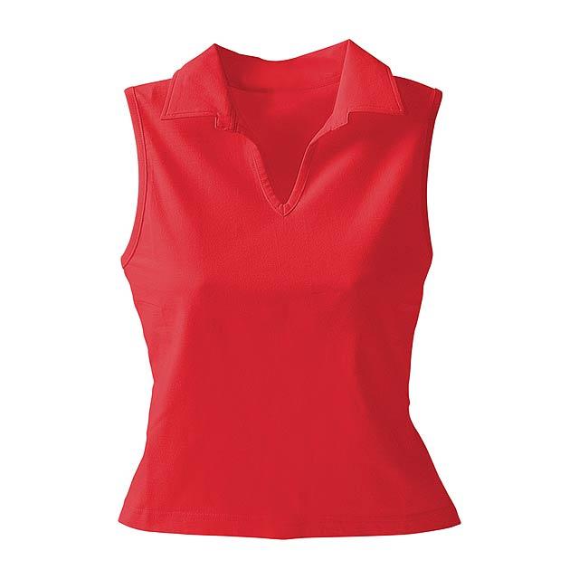 Cristin polo košile - červená