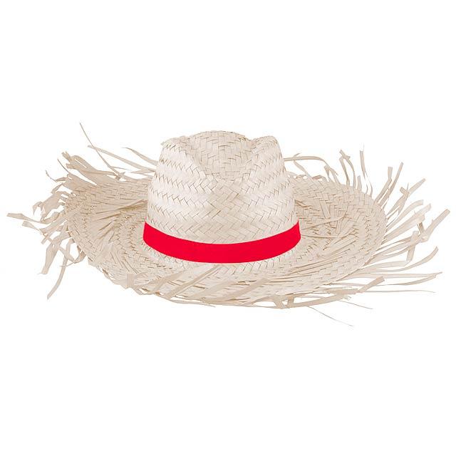 Filagarchado slaměný klobouk - béžová