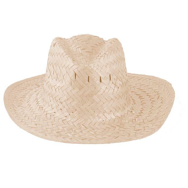 cbe24ddc5 Pánsky slamený klobúk - biela, Reklamné predmety - Promo Direct