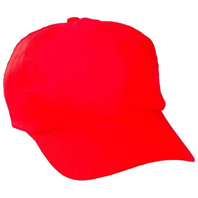 Sport baseballová čepice - červená