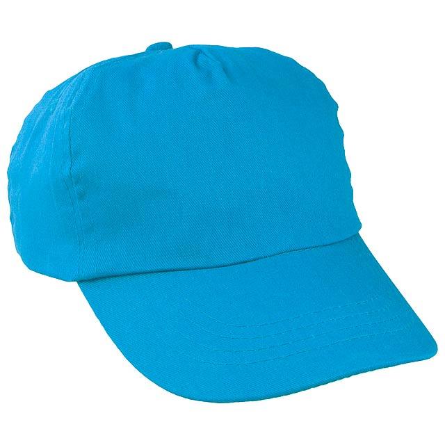 Sport baseballová čepice - nebesky modrá