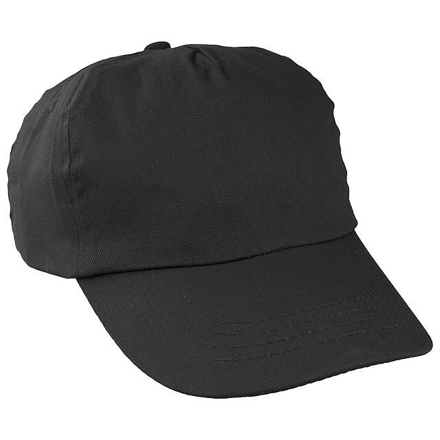 Sport baseballová čepice - černá
