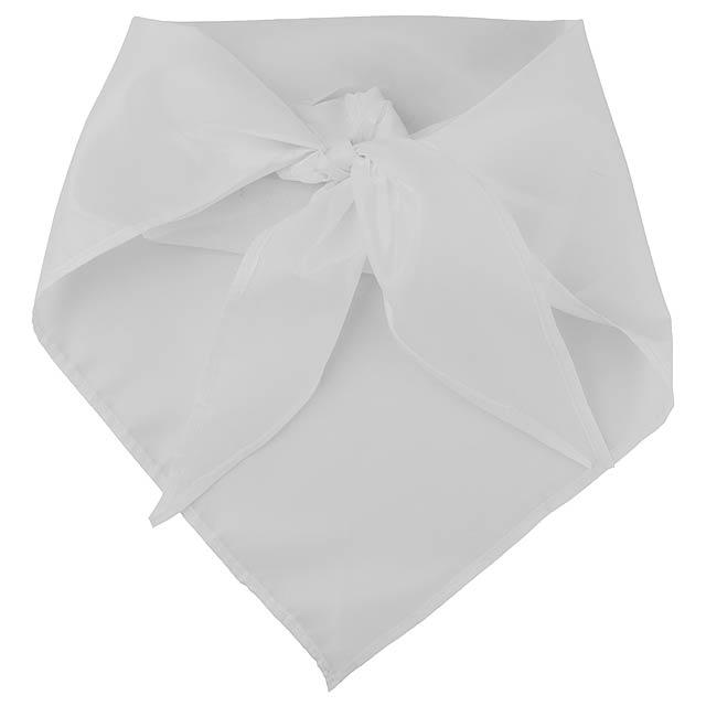 Plus šátek - bílá