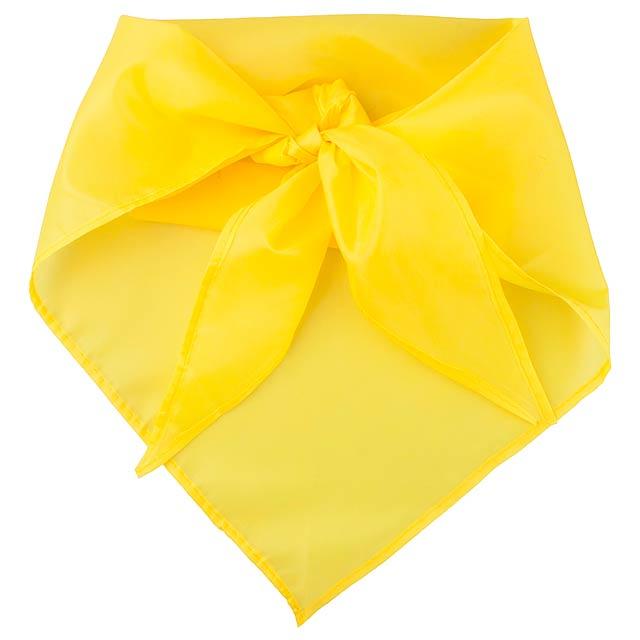 Plus šátek - žlutá