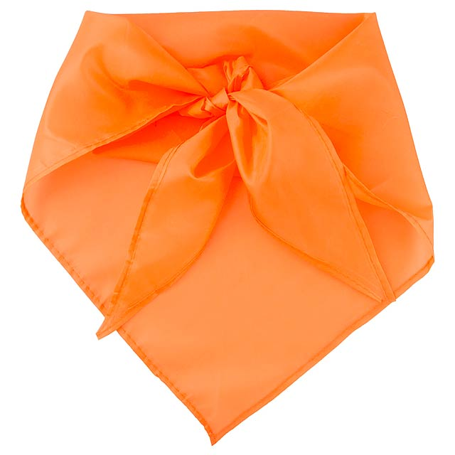 Plus šátek - oranžová
