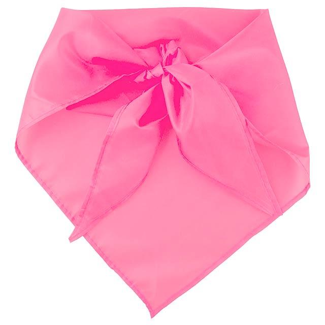 Plus šátek - růžová