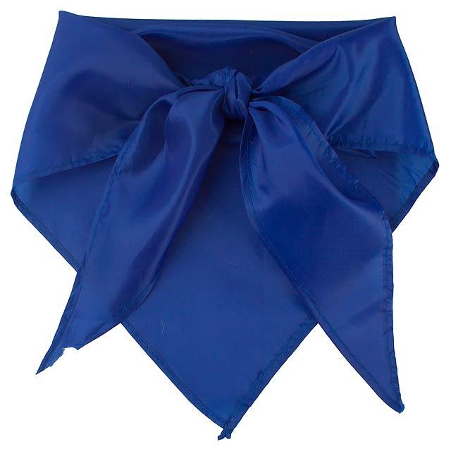 Plus šátek - modrá