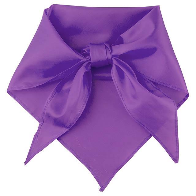 Plus šátek - fialová