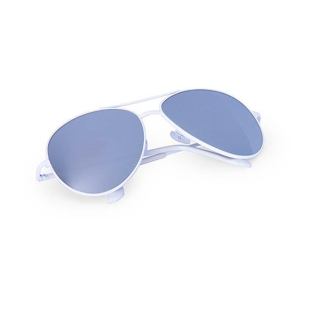 Kindux sluneční brýle - bílá