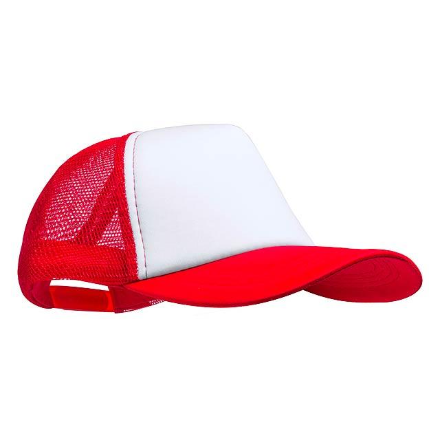 Zodak baseballová čepice - červená