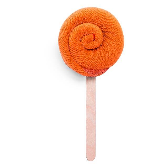 Nalex savý ručník - oranžová