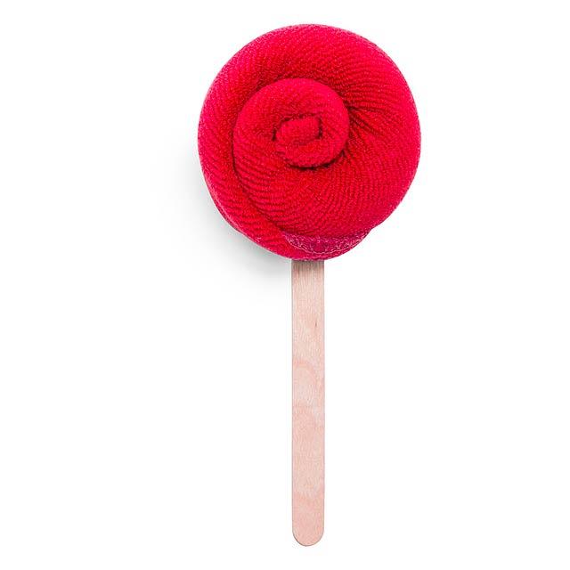 Nalex savý ručník - červená