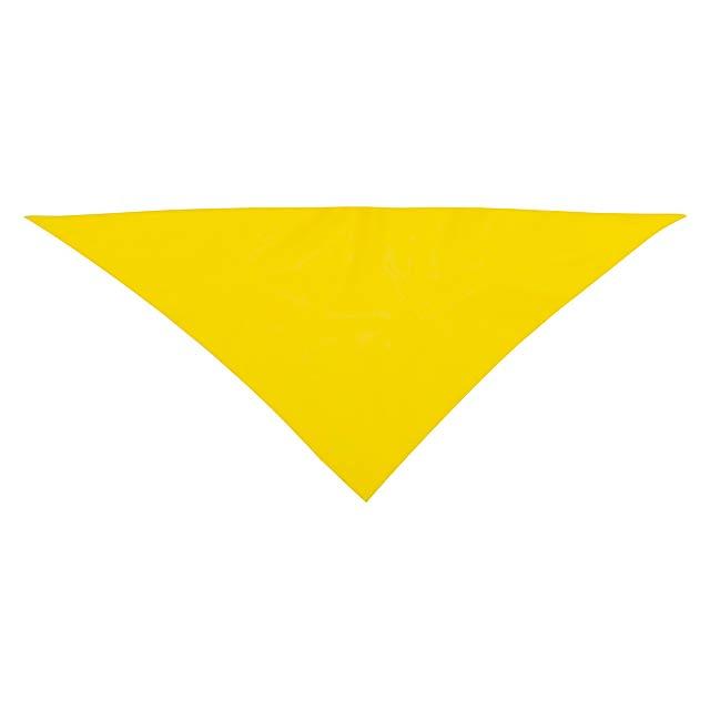 Kozma šála - žlutá