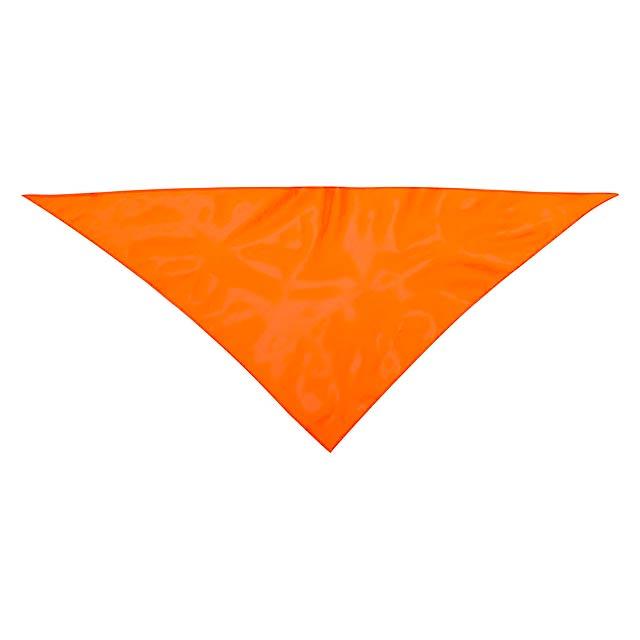 Kozma šála - oranžová