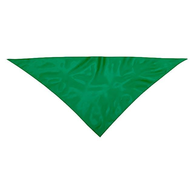 Kozma šála - zelená