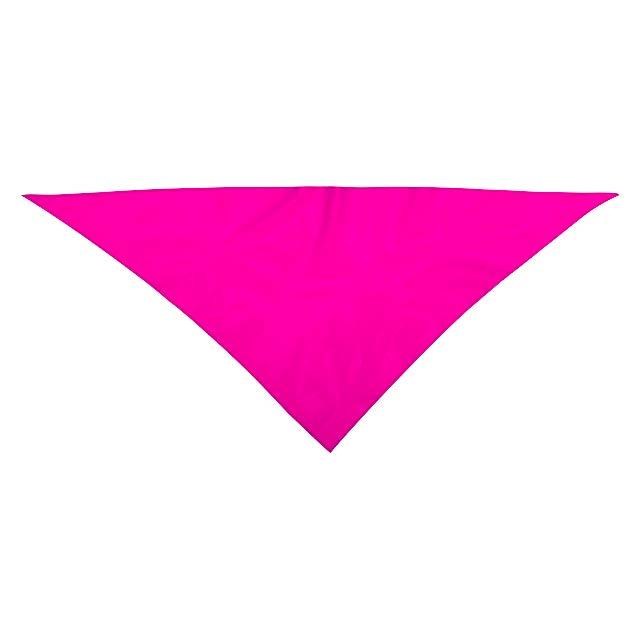 Kozma šála - fuchsiová (tm. růžová)