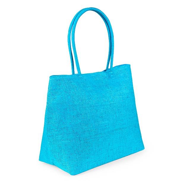 Nirfe nákupní taška - nebesky modrá