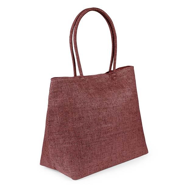 Nirfe nákupní taška - hnědá