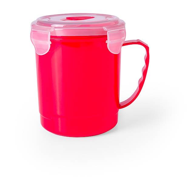 Gorex kelímek na pití - červená