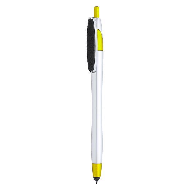 Tesku kuličkové pero - žltá