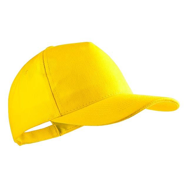 Bayon baseballová čepice - žlutá