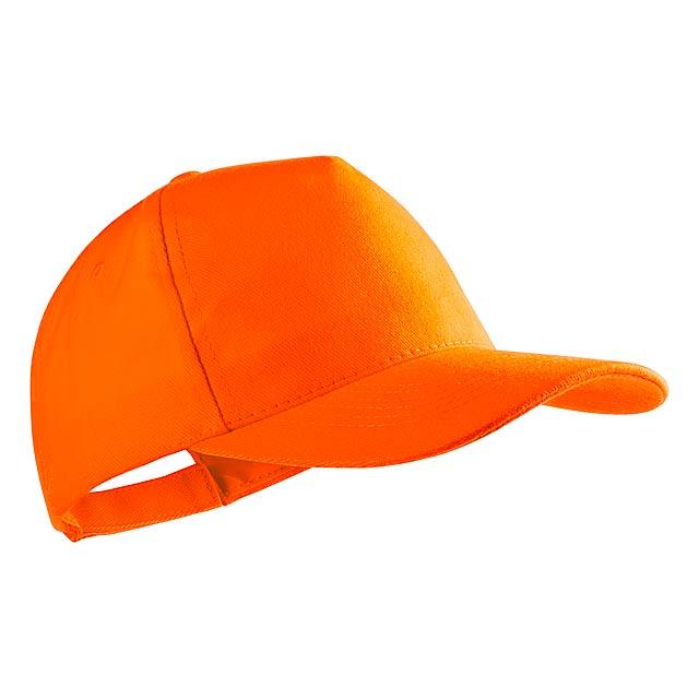 Bayon baseballová čepice - oranžová