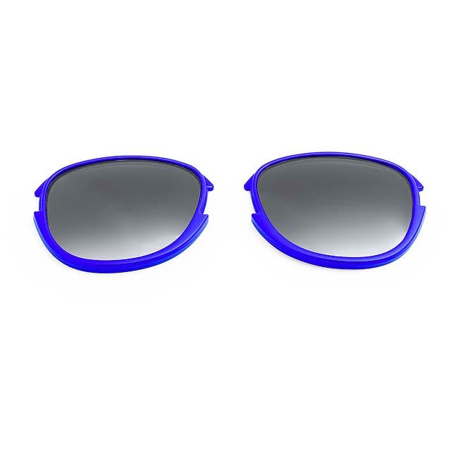 Options čočky - modrá