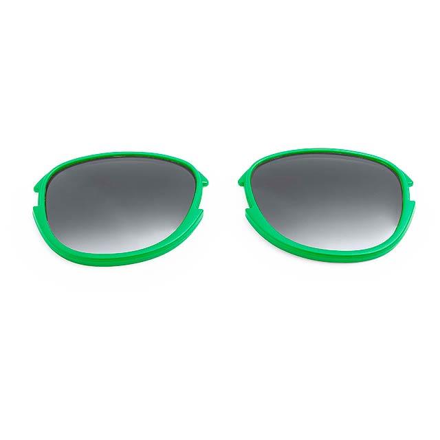Options čočky - zelená