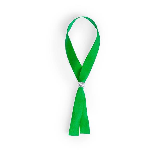 Mendol náramek - zelená