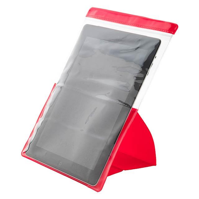 Tuzar voděodolný obal na tablet - červená
