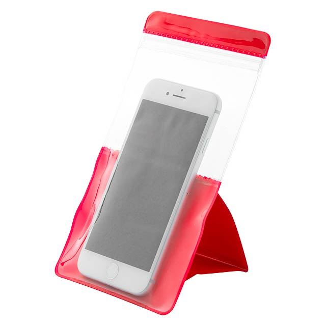 Clotin voděodolný obal na mobil - červená