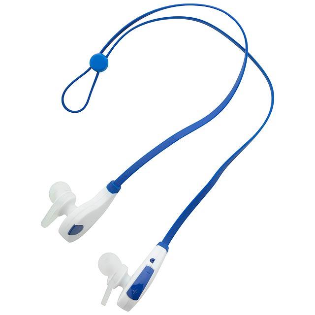 Seida bluetooth sluchátka - modrá
