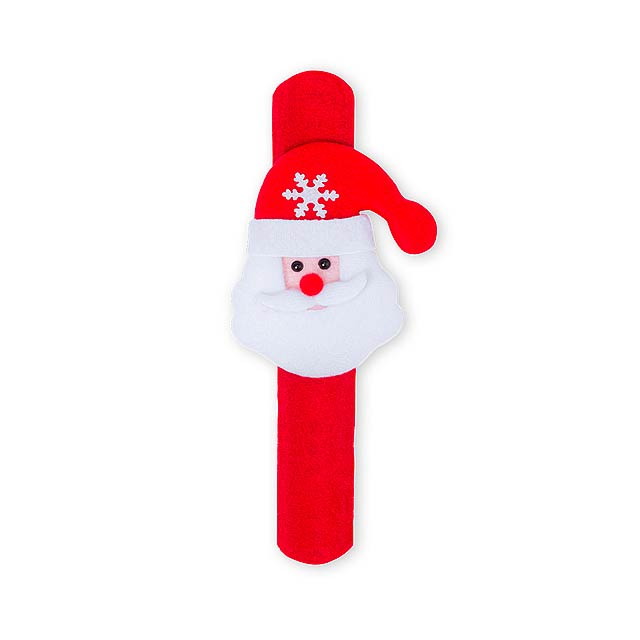 Randal pásek na ruku se Santa Clausem - červená
