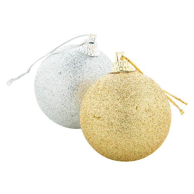 Yenkit sada vánočních ozdob - zlatá