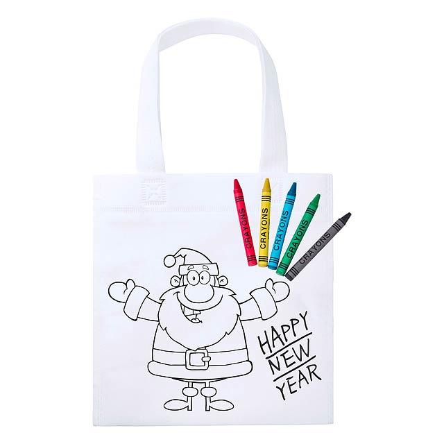 Wistick nákupní taška na vybarvení - multicolor