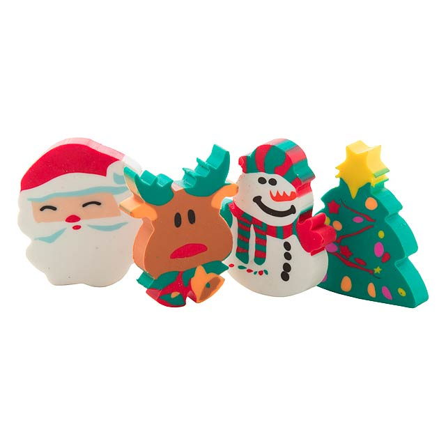 Flop sada vánočních gum - multicolor