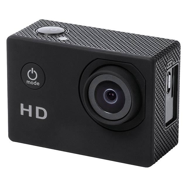 Komir sportovní kamera - černá