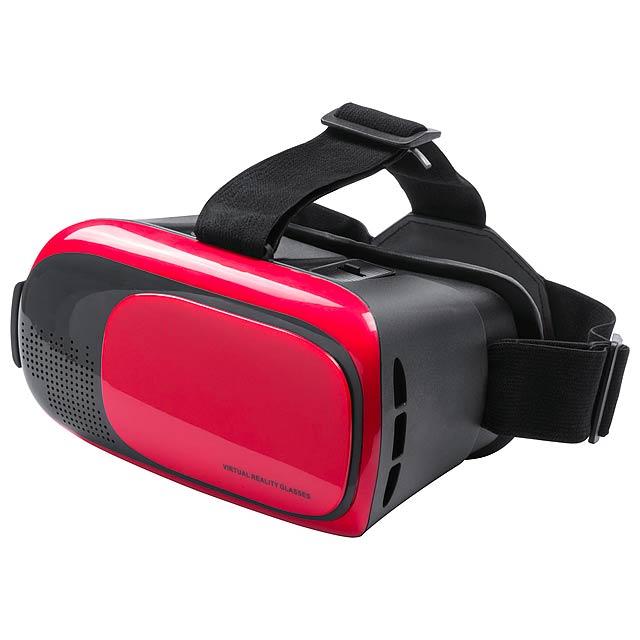 Bercley set pro virtuální realitu - červená