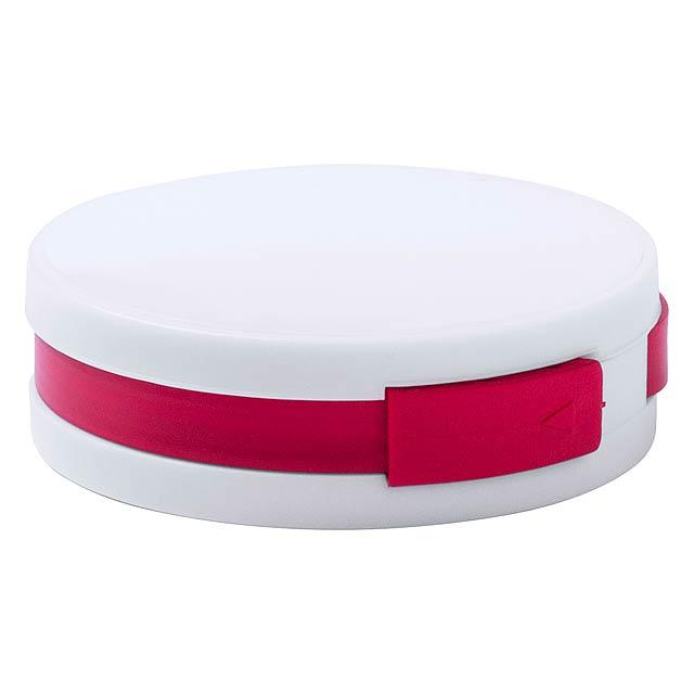 Niyel USB hub - červená