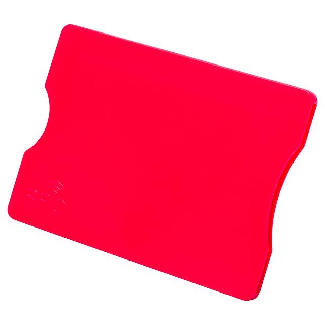 Randy obal na kreditní karty - červená